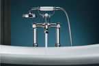 AXOR Montreux Bathtub and Tap with Cross Handles