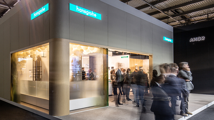 In April, industry professionals and design-conscious consumers were able to discover the innovations of the two brands AXOR and hansgrohe