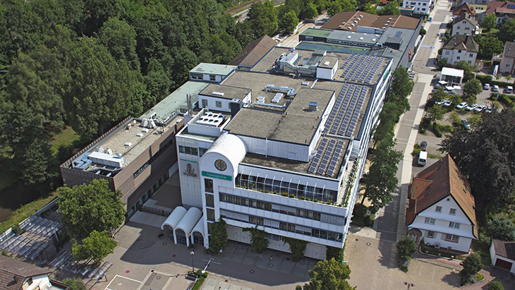 The Hansgrohe Group has been based in Schiltach in the Black Forest since 1901. Today its products are exported to over 130 countries.