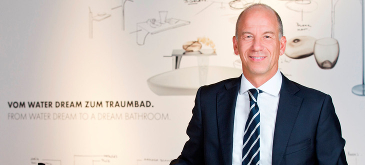 Thorsten Klapproth is Chairman of the Executive Board of Hansgrohe SE