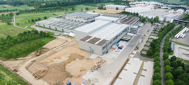 Investing in its site in Offenburg, Germany