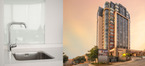 Hansgrohe products in Johannesburg's Sandton Skye residential towers