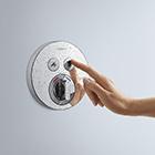 mischbatterie in der dusche hilfe bei der auswahl hansgrohe de. Black Bedroom Furniture Sets. Home Design Ideas