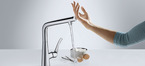 Hansgrohe Metris Select kitchen mixer