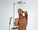 hansgrohe Showerpipe.