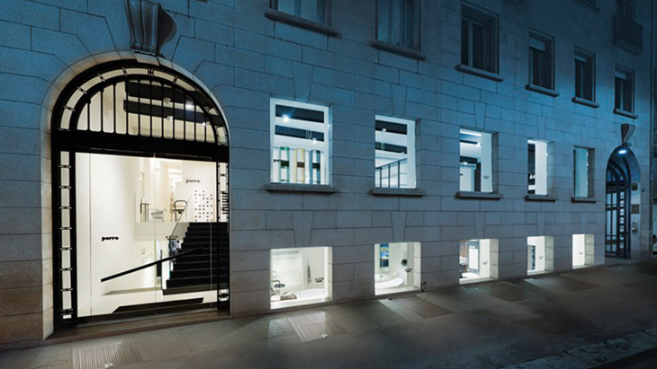 Axor Showroom Milan, entrance