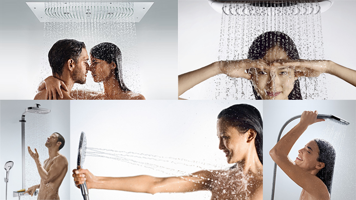 (Axor and Hansgrohe ambience images)