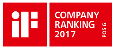 iF company ranking, 6th place for Hansgrohe