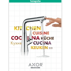 Kitchen brochure from Hansgrohe and Axor