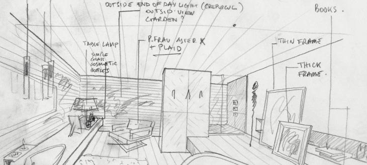 展销空间设计手绘