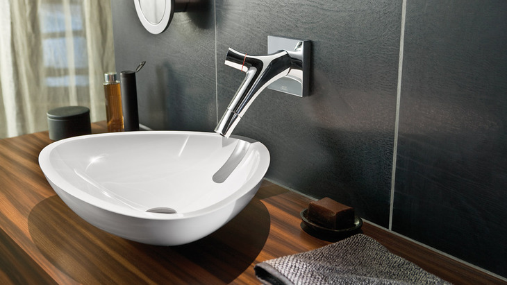 Axor Massaud wash bowl. Wash basins from Axor for an exclusive bathroom   Hansgrohe INT