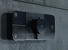 Axor One shower control.