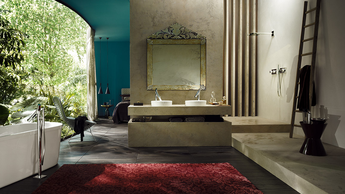 Bathroom idea: Axor Starck Organic bathroom design | Hansgrohe Singapore