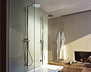Axor Starck showers.