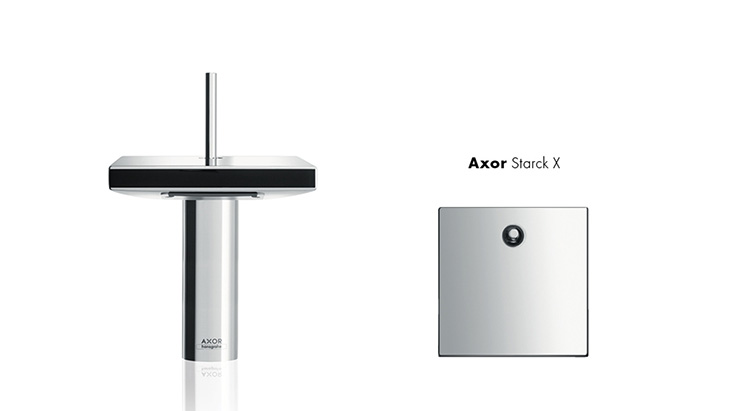 Badarmaturen hansgrohe  AXOR Starck, klares Design für Erholung im Bad | Hansgrohe DE