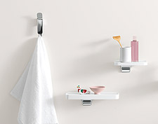 Accessories from the Axor Bouroullec collection