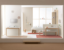 Bathroom ambience with Axor Bouroullec.