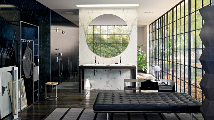 Bathroom featuring Axor Citterio.