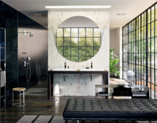 Axor Citterio bathroom, luxurious bathroom atmosphere