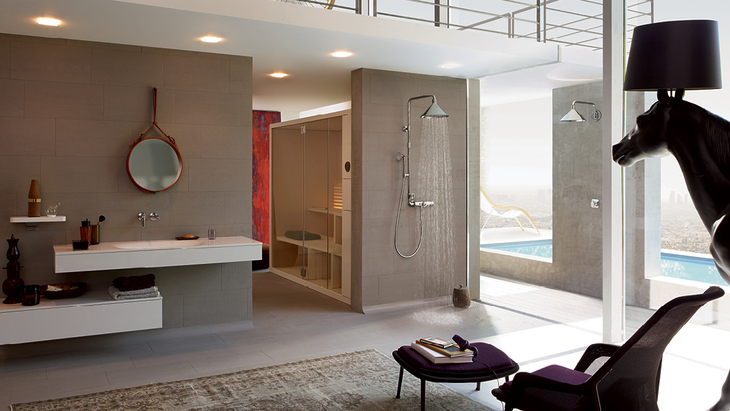 Loft apartment with Axor ShowerProducts designed by Front.