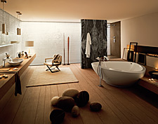 Axor Massaud bathroom, bathroom shower ideas for nature