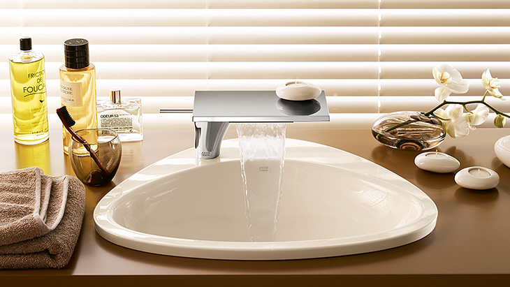 Delightful Vanity With Faucet Awesome Design