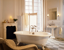 Bathroom ambience with Axor Montreux.