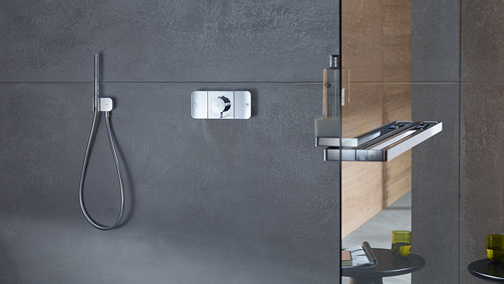 Axor One shower range.