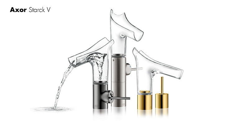 Axor Starck, clear design for bathroom relaxation | Hansgrohe INT