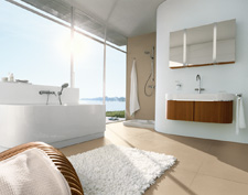 Bathroom ambience with Axor Uno2.