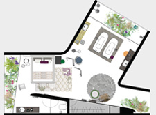 AXOR Urquiola bathroom planning floor plan