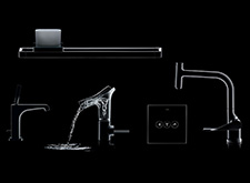 New Axor products for bathroom and kitchen