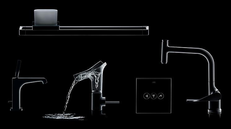 Wasserhahn & Armaturen Für Bad, Dusche Und Küche | Hansgrohe De Badarmaturen Von Hansgrohe Axor Stark V Ist Perfektion Aus Glas