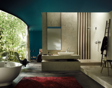Bathroom ambience with Axor Starck Organic.