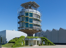 Hansgrohe solar tower in Offenburg