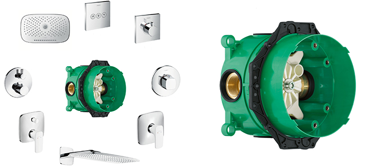 Hansgrohe iBox universal is celebrating its fifteenth anniversary.