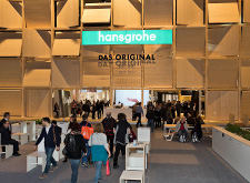 Hansgrohe live auf internationalen Messen und Events.
