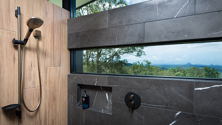 Environmentally friendly Hansgrohe showers
