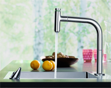 Metris Select kitchen tap