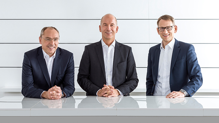 Hansgrohe Group company management.