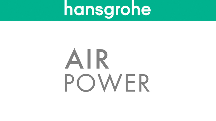 AirPower de Hansgrohe.