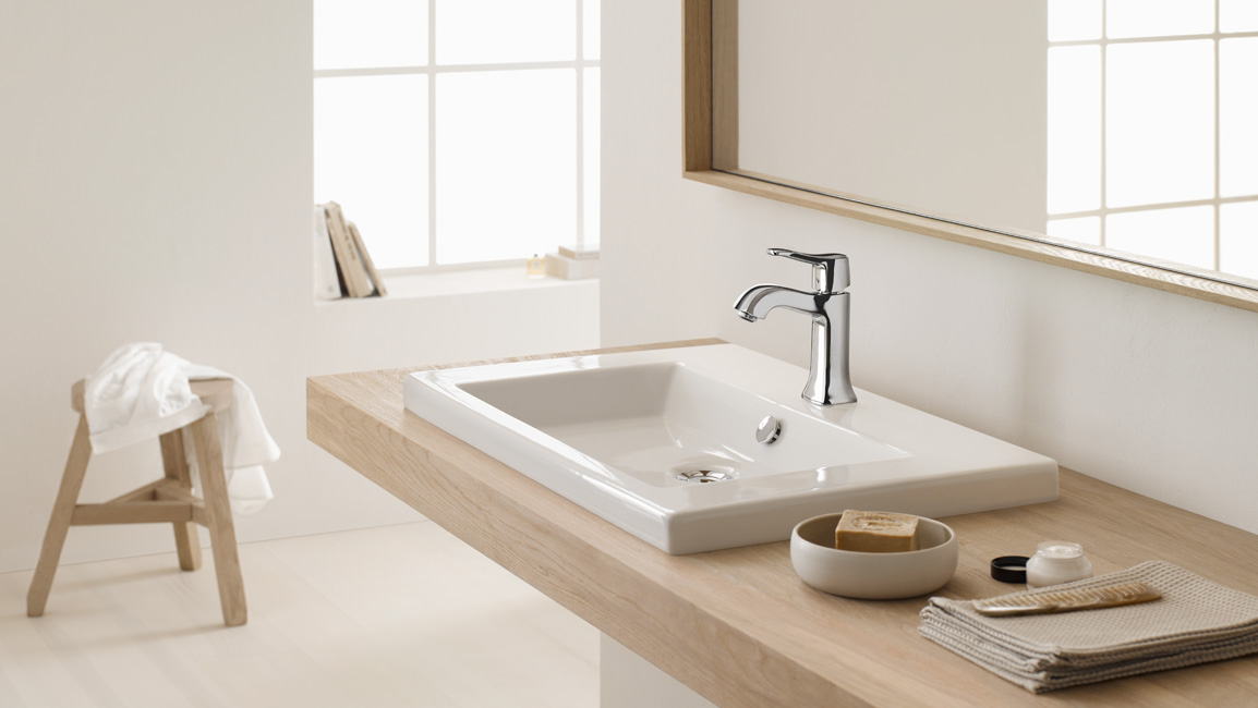 Classic timeless with hansgrohe puravida