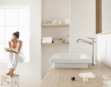 Classic bathroom sink faucets from Hansgrohe