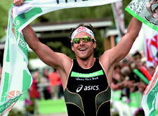 Triathlon-Sportler Daniel Unger.
