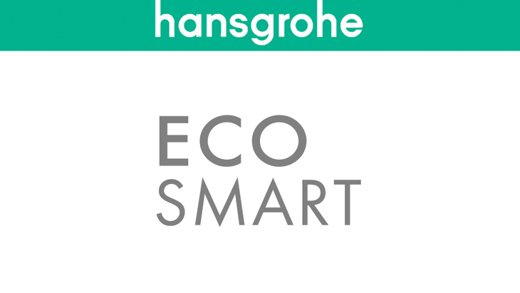(EcoSmart automatically saves water and energy.)