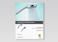 Environmental life cycle assessment for hand showers
