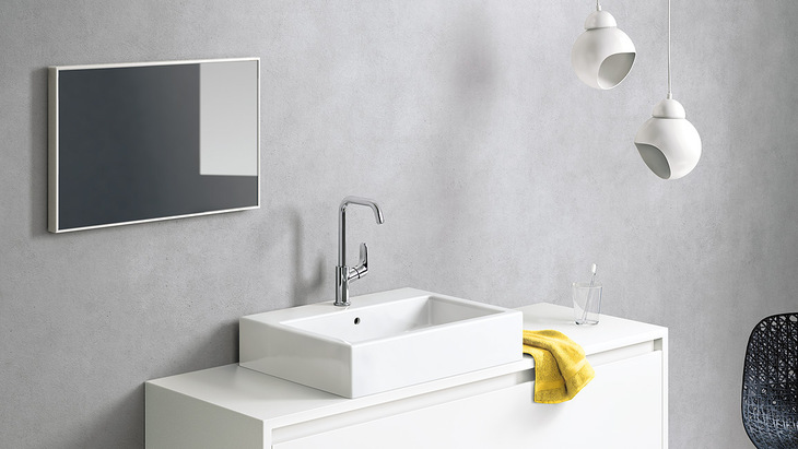 Super Faucets featuring convenient spout heights | Hansgrohe US LP02