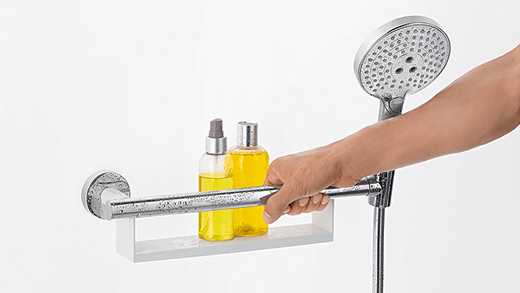 Bathroom Grab Bars India extra grip with unica comfort wall bar | hansgrohe deu | hansgrohe