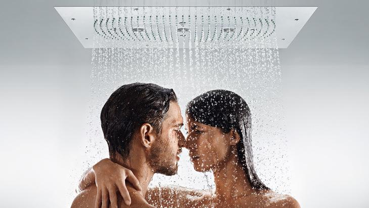 Shower head and rain showers, body sprays | Hansgrohe US
