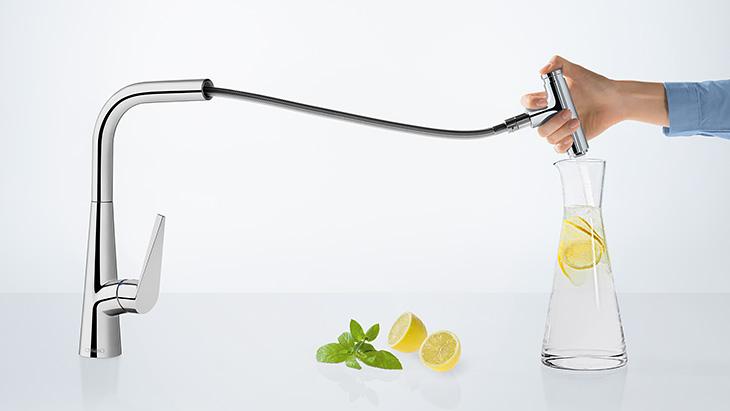 Brandneu Küchenarmaturen - Ihr neuer Wasserhahn für die Küche | Hansgrohe DE FA59